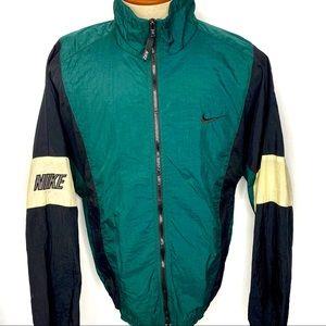 Vintage Nike Windbreaker Jacket Color Block M
